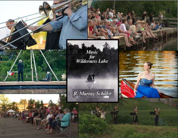 Music For Wilderness Lake Collage